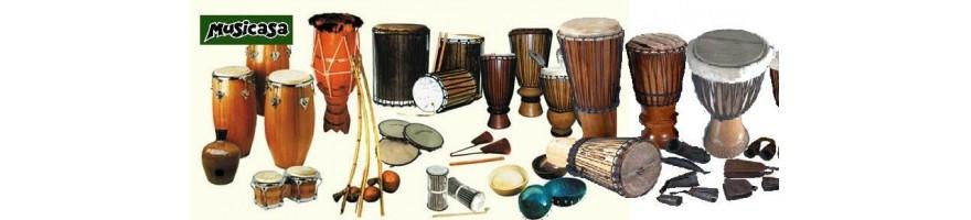 Cas Cas Instrumento Percusion Africano