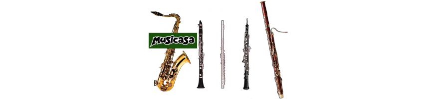 a great selection  Flutes, Saxophones, Recorders, Clarinets, Woodwind