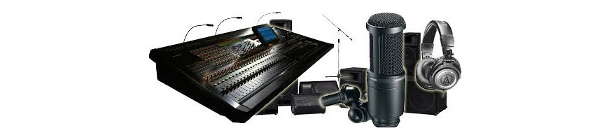 Find the best pro audio equipment for professionals