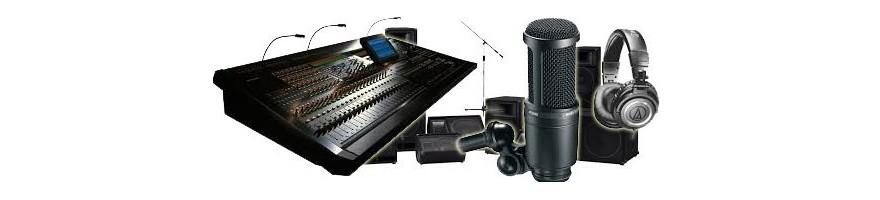 Venta de audio profesional, sonido fiable