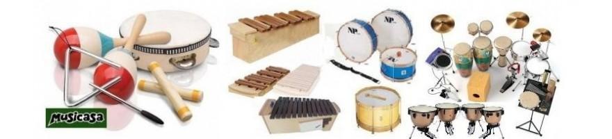 percusion platos bongos timbales marcha-charanga-pasacalles
