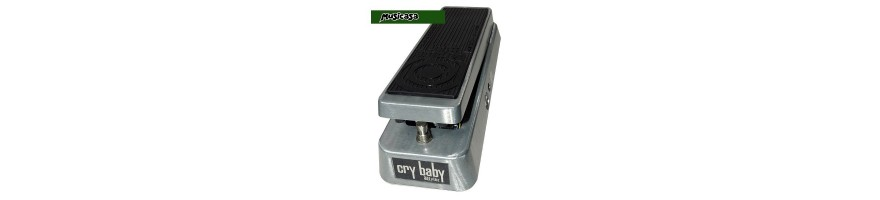 El pedal wah es uno de los primeros pedales que se compra en musicasa