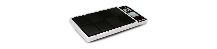 pads bateria electronica. caja.bombo.hihat