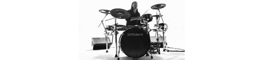 Complete e-drumset