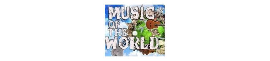 instrumenots de cuerda del mundo