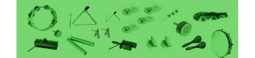 accesorios y pequeña percusión sinf.