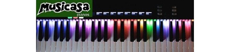teclados master -midi control