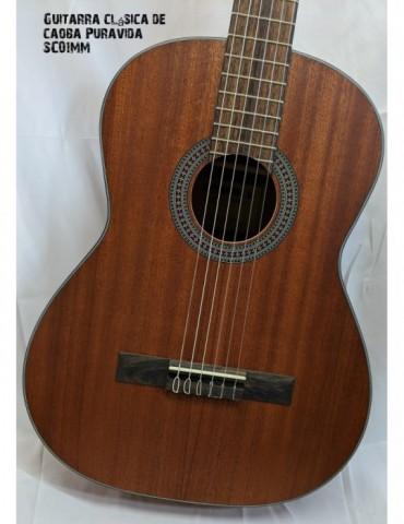Puravida SC01MM Guitarra clásica de caoba