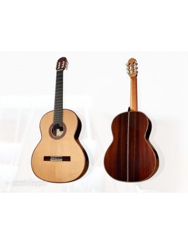BURGUET 1A, guitarra española concierto, tapa Abeto. Acabado laca nitrocelulosica