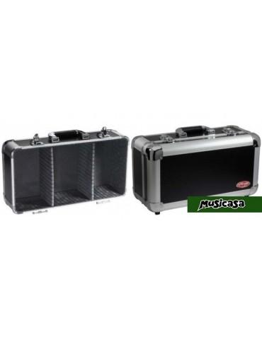 STAGG FC-CD CASE  Caja de transporte ALU para Cables, micros, conectores, adaptadores
