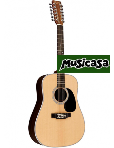 "PURAVIDA SC-03930 Guitarra Clásica 4/4 39"" Tapa Sólida de CEDRO ROJO"