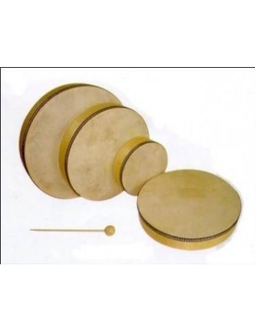 HONSUY 43600 PANDERO 15 cm. parche sin tensores. Incl. maza