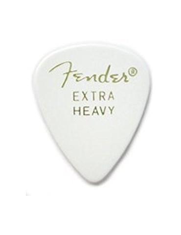 FENDER 351 SHAPE WHITE EXTRA HEAVY PUA GUITARRA