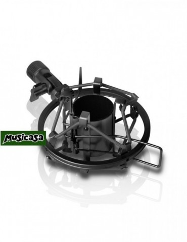 LDSYSTEMS DSM 40 B - Soporte de araña para Micrófono de estudio 40 x 44 mm negro