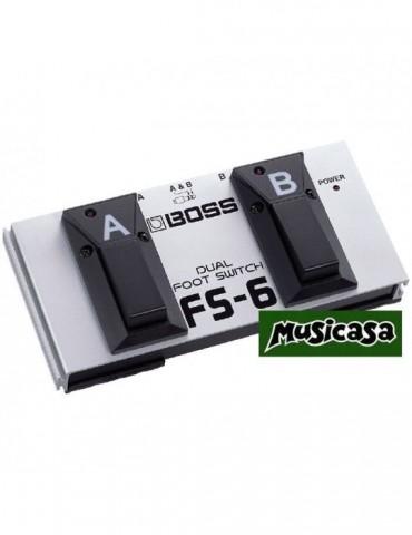 BOSS FS 6 PEDAL DUAL (polaridad A/B) Pedal conmutador