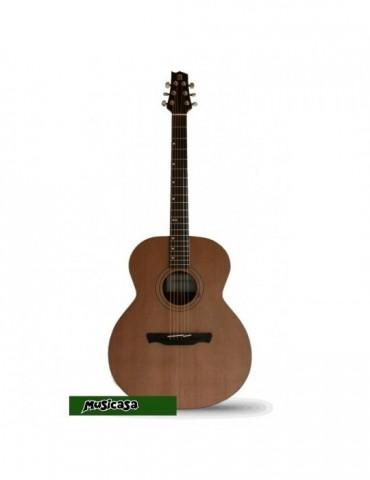 ALHAMBRA A-1 AB Guitarra ACUSTICA Auditorio, Tapa Abeto, Cuerpo Sapelli