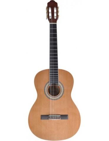 "PURAVIDA CEDRO Guitarra Clasica 4/4 39"" Tapa S¢lida de CEDRO"