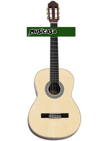 """PURAVIDA SC-03912 Guitarra Clsica  4/4 39"""" Tapa de Picea"""