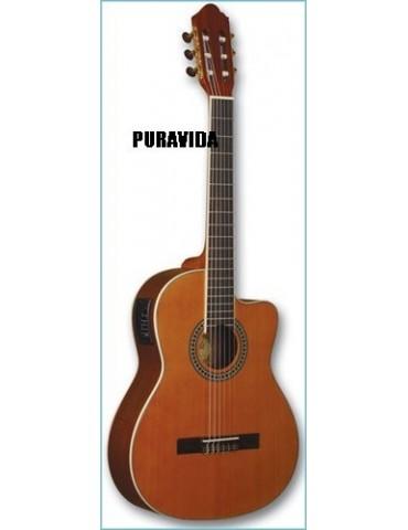 PURAVIDA SC-03904C EQ NATURAL Guitarra Clsica AMPLIFICADA