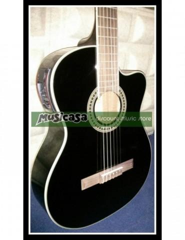 PURAVIDA SC-03904C EQ BK Guitarra Clsica AMPLIFICADA BLACK