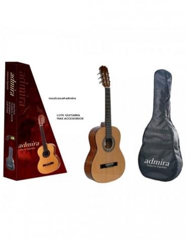ADMIRA ALBA 3/4 PACK Guitarra Cadete clasica incl.funda y afinador