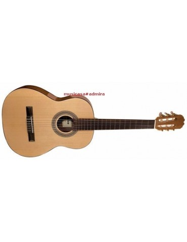 ADMIRA ALBA 1/2 Guitarra clasica tapa pino, cuerpo sapelli, Infante