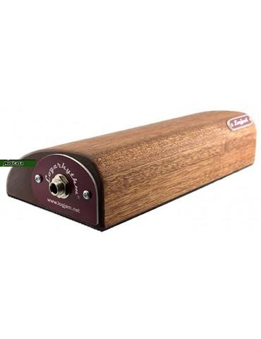 LOGJAM Logarhythm MK4 Sapele STOMP BOX  200X117X45mm