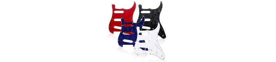 golpeadores guitarra eléctrica - pickguard