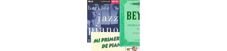 ediciones, partituras y métodos para piano