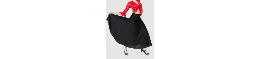 Faldas para baile flamenco y escuela bolera