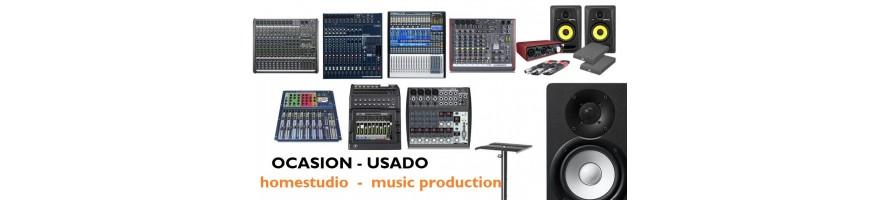 equipo de estudio y producción musical usado