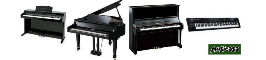 pianos profesionales desde 1965.  los mejores al mejor precio