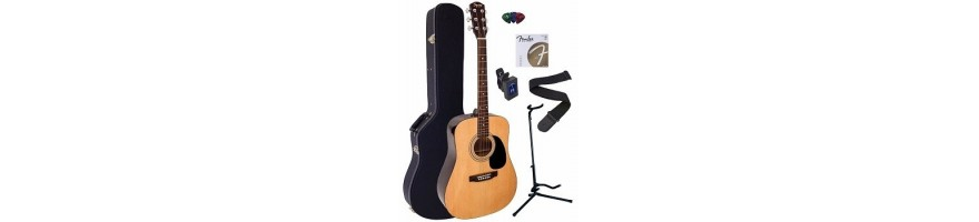 pack guitarra acustica