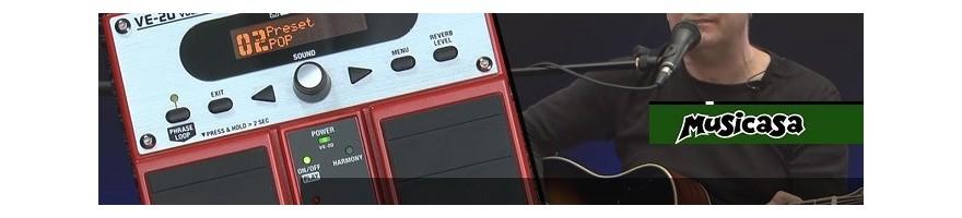 pedal vocalista