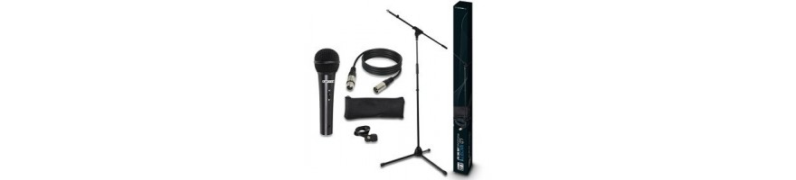 mic packs -lote completo micro y accesorios