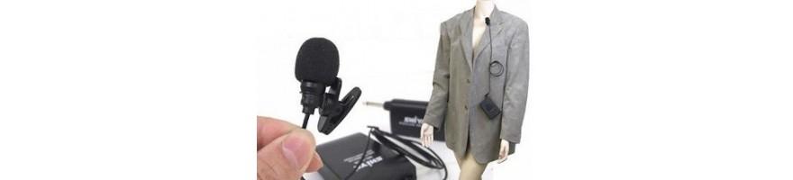 microfonos de solapa