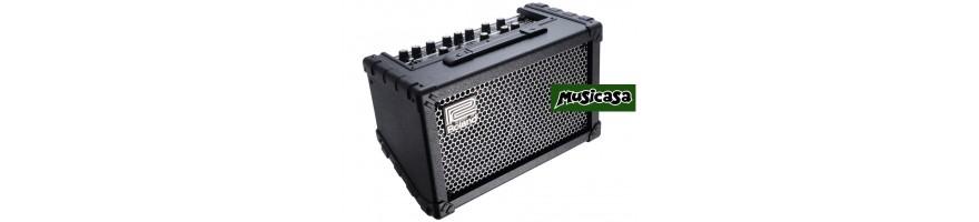 amplificadores guitarra portatil a bateria