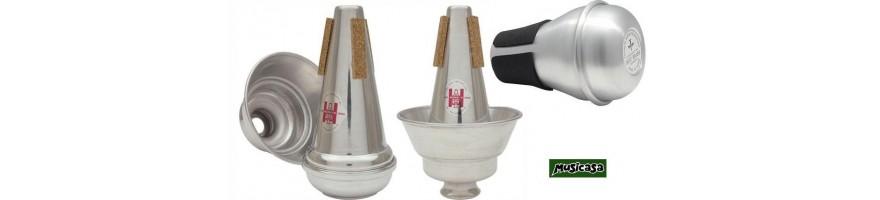 sordinas otros instrumentos de viento