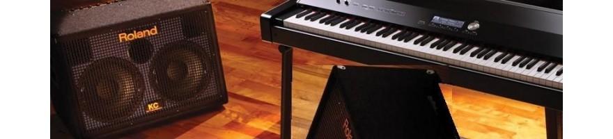 amplificadores teclado