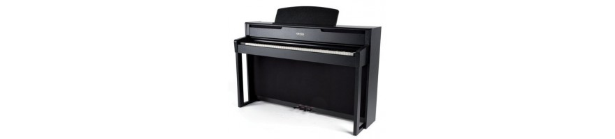 Piano digital con mueble