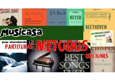 Nueva entrada de Ediciones musicales, Partituras y Métodos