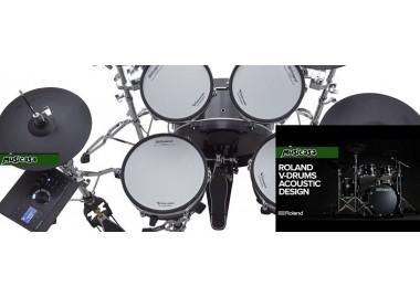 YA ESTAMOS ENTREGANDO LA BATERÍA DIGITAL ROLAND VAD306 La batera híbrida acústica – electrónica más impactante